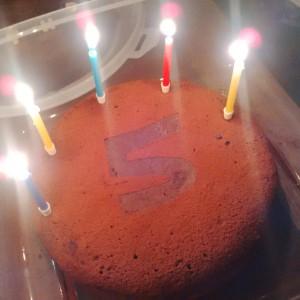 Birthday cake!