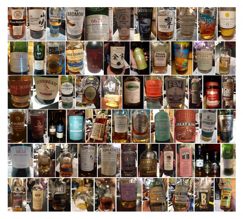 Just some of the drams of 2015, as photographed by Whisky Squadders