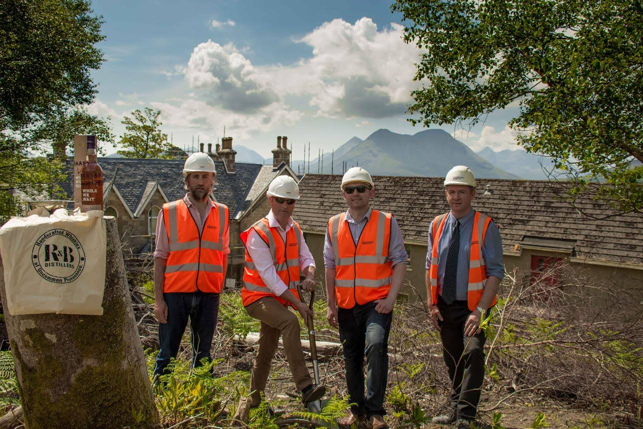 Breaking ground at Raasay